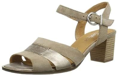 Gabor Shoes Gabor Comfort 82.384.42 Damen Sandalen, Grau (koala/mutaro), EU 41 (UK 7.5) (US 10)