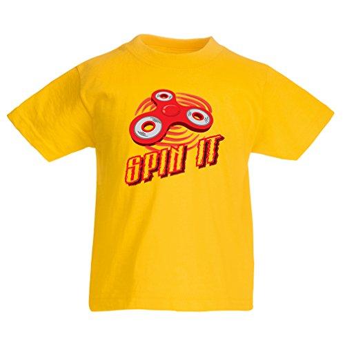 Kinder T-Shirt Spin It - für wer liebt es, das