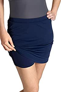 Coolibar pour femmes Jupe de bain anti-UV UPF 50 +-Bleu-Taille 36/X-petit
