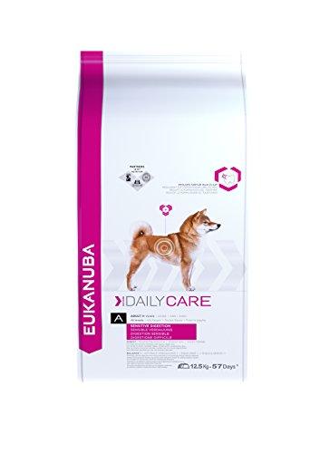 Eukanuba Daily Care, Premium Hundefutter für Hunde mit sensibler Verdauung, Trockenfutter mit Huhn (1 x 12,5 kg)