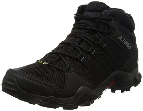 Adidas Terrex Ax2r Mid Gtx, Botas de Montaña para Hombre, Negro (Negbas/Negbas/Grivis), 40 EU