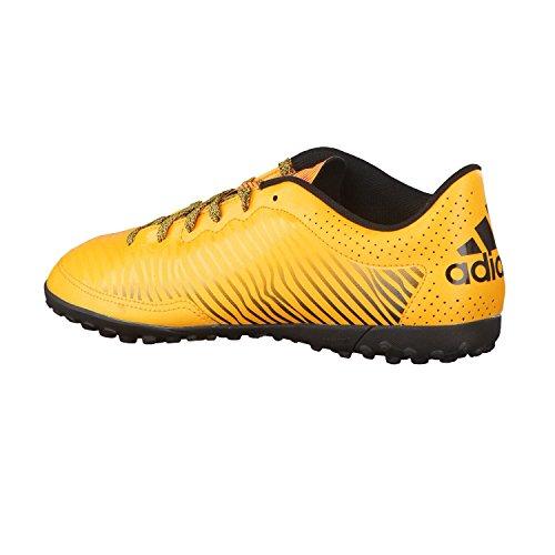 adidas X 15.3 Cg, Chaussures de Foot Homme, Blanc / Orange Jaune / rose / noir (doré solaire / rose impact / noir essentiel)