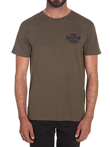 Herren T-Shirt Volcom Old Russ Bsc T-Shirt Military
