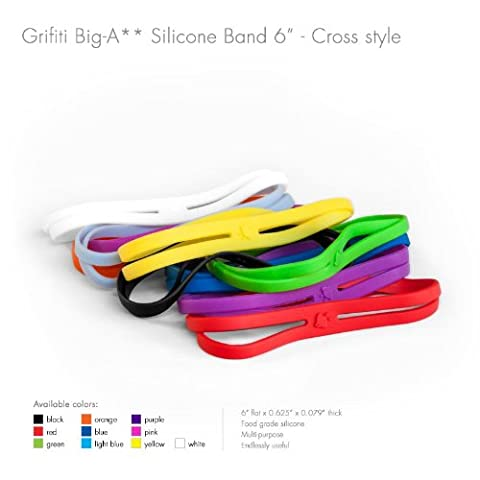 Grifiti Big-Ass Bands X Cross Style 5 Pack 6