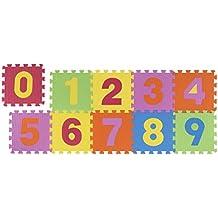 Alfombra infantil se compone de piezas de puzzle desmontables, alfombra de juegos
