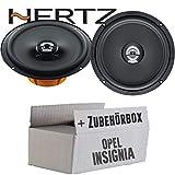 Hertz DCX 165.3-16cm Koax Lautsprecher - Einbauset für Opel Insignia - JUST SOUND best choice for caraudio