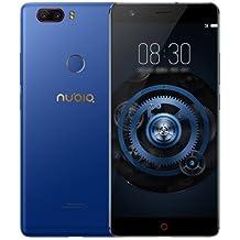 """ZTE Nubia Z17 Lite Versión Internacional Pantalla 5,5"""", FHD,6GB + 64 GB,Doble cámara trasera 13.0MP +13.0MP y cámara selfie de 16.0MP,color azul"""
