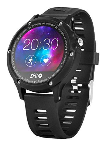 SPC Smartee Sport Smartwatch (Bluetooth 4.0 BLE, GPS), Negro, 1.22