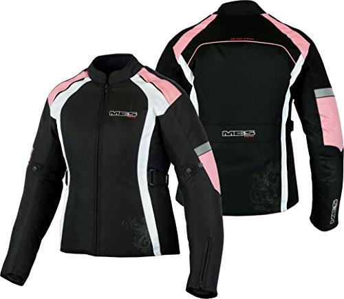 MBSmoto - Chaqueta de motociclismo para mujer (impermeable, cortavientos)