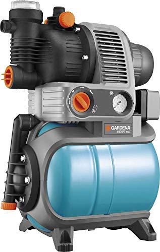 GARDENA 01754-61 Hauswasserwerk 4000/5 eco, 850 W, türkis, schwarz, Orange