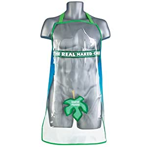 Boxer Gifts Kochschürze mit Aufschrift The Real Naked Chef