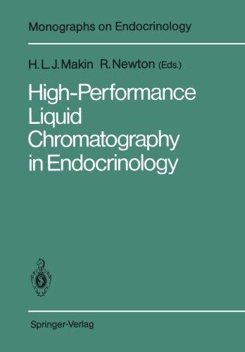 High-Performance Liquid Chromatography in Endocrinology (Monographs on Endocrinology) (1988-01-01)