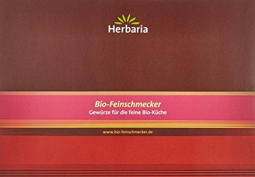 Herbaria Grillbox 5 Gewürzspezialitäten für Fisch, Fleisch und Salat, 445 g - Bio