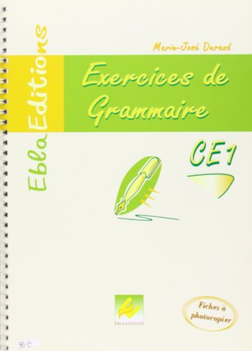 CE1-Grammaire CE1