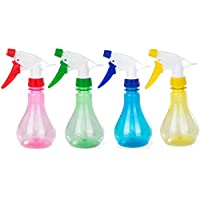 Katech 4 Pieces of Multifunctional Spray Bottles 250ml Plastic Garden Sprayer Bottle for Watering Plants and Flowers or Cleaning Rooms, Office, Car