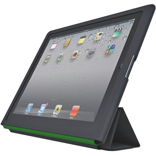 Leitz 62540095 Schutzhülle Complete Textil mit Standfunktion für iPad, schwarz