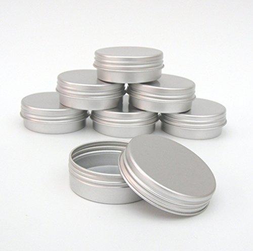 3x-10ml-aluminium-tins-jars-w-screw-on-lids-for-nail-art-makeup-cosmetics-travel-balms-by-lucemill-p