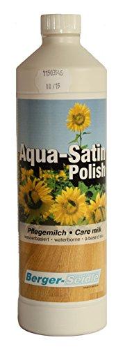 Berger-Seidle Aqua Satin Polish, Pflege Reinigung geölter Parkett und Holzboden