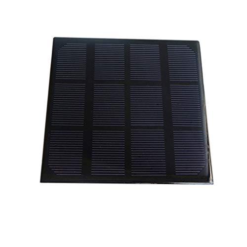 Hotaluyt 3W 6V Solar Panel monokristallinem Silizium DIY-Ladegerät im Freien Solar-bewegliche Energien-Bank