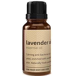 Rouh Essentials Pure and Organic Lavender Oil, 15ml