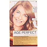 Garnier Excellence Age Perfect Coloración permanente, Tono: 6.13