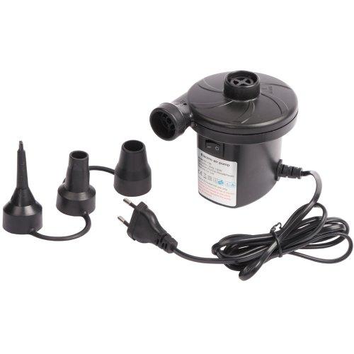 Elektrische Pumpe zum Auf und Abpumpen, 450 ltr/min, div. Adapter, 230V: Kompressor Luftpumpe Elektropumpe Luftbett Schlauchboot