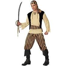 Atosa - Disfraz de pirata para hombre, talla M/L (15750)