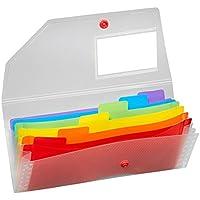 Snopake 15770expandiendo organizador archivo–Rainbow