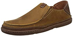 Clarks Mens Beige Loafers and Moccasins - 9 UK/India (43 EU)