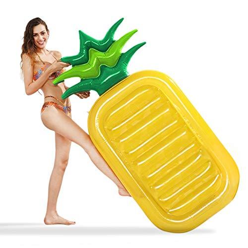 Ananas aufblasbare Luftmatratze,Party Schwimmgerät Pool Spielzeug für Erwachsene & Kinder (Tool Ananas)