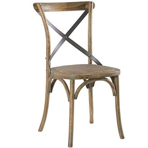 MATHI DESIGN Chaise bistrot chêne