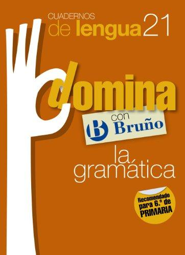 Cuadernos Domina Lengua 21 Gramática 6 (Castellano - Material Complementario - Cuadernos De Lengua Primaria) - 9788421669211 por Juan Cruz Martínez