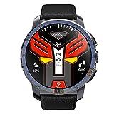 Chshe Smart Watch - 4G-Smartwatch, 2 + 16G-Speicher, 1,39-Zoll-Amoled-Display, Ip67-Wasserdicht, Mtk6739-Quad-Core-Prozessor, 8,0 Mp Pixel (Schwarz)