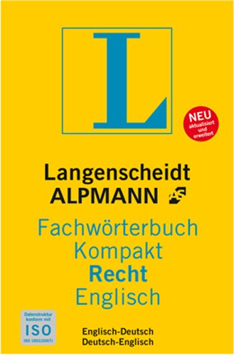 Langenscheidt e-Fachwörterbuch Recht Englisch [Download]