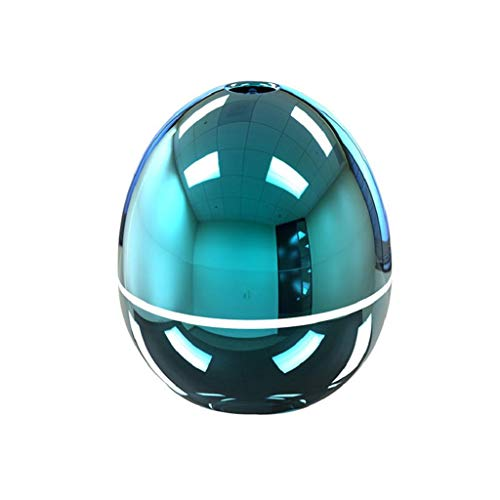 QUICKLYLY Humidificador Aromaterapia Ultrasónico,USB Difusor De Aceites Esenciales,Purificar El Aire Y Mejorara Portátil Atomizador del Humectador HogarAzul