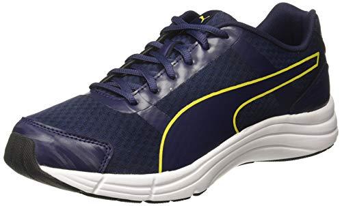 PUMA Men's Neutron IDP Peacoat-Blazing Yellow Black Running Shoes-6 UK/India (39 EU) (4060979816541)