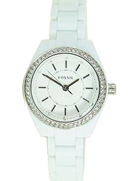 Fossil Damen Armbanduhr Weiß BQ1199