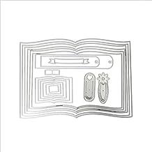 Marcapáginas para libros de recortes, manualidades, recortes, tarjetas, plantillas para repujado,