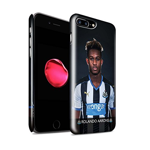 Offiziell Newcastle United FC Hülle / Glanz Snap-On Case für Apple iPhone 7 Plus / Sissoko Muster / NUFC Fussballspieler 15/16 Kollektion Aarons