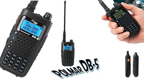 DB-5 POLMAR DUAL BAND VHF/UHF 5 WATT 144/430 (136/174 - 400/480) INCLUSO...