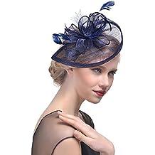 40006f10d52 Ssowun Chapeau de Mariage Femme