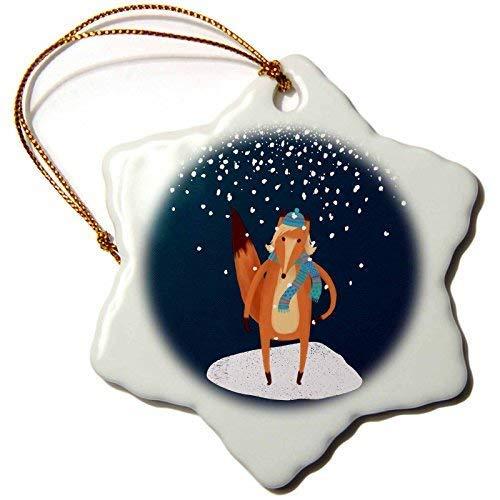 GFGKKGJFF Dekofigur, Motiv: Rentier mit goldenem Geweih im Schnee auf Pinker Keramik, Weihnachtsdekoration für Paare, Verlobung, Andenken