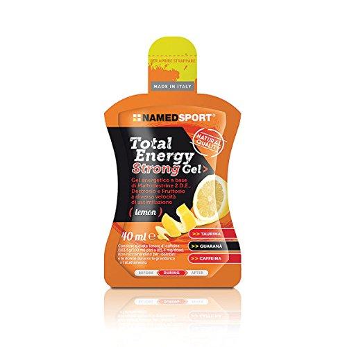Total Energy Strong Gel box da 24 gel da 40 ml gusto lemon