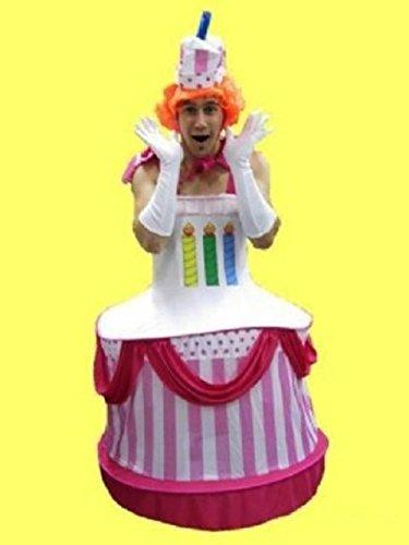 Imagen de disfraz despedidas de soltero de pastelito cupcakes