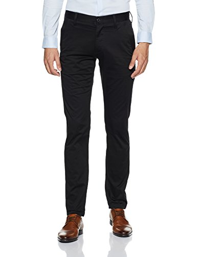 G-STAR RAW Herren Bronson Slim Chino - Schwarz Relaxed Fit Jeans