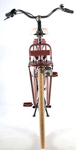 41ldIMVX9jL - Salutoni Excellent 28 Inch 56 cm Woman 3SP Coaster Brake Pink