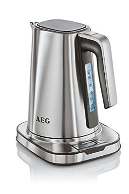 AEG 2074477 EWA 7800 Bouilloire Electrique 1,7 L Inox 25 x 23 x 17 cm