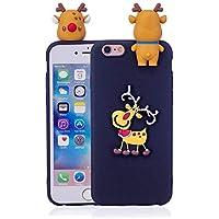 Shinyzone iPhone 6S Hülle Weihnachten,iPhone 6 Silikon Hülle-3D Niedlich Design Weiche TPU Rückseite [Rutschfest... preisvergleich bei billige-tabletten.eu