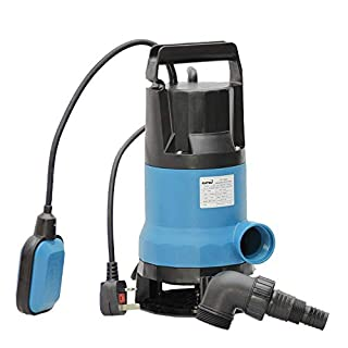 151653 750W Heavy Duty Submersible Garden Pond Dirty& Clean Water Pump