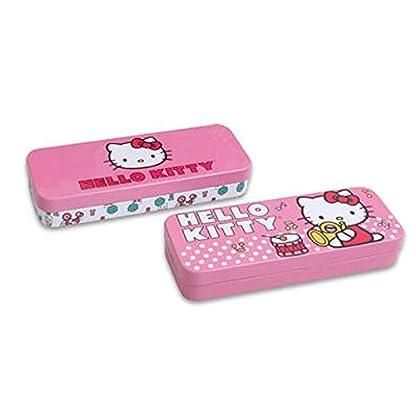 Sanrio Hello Kitty (estuche de lata, lapiz soporte–varios colores